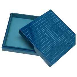 Hermès-Hermès H'dot Lacquer Case Bleu-Bleu