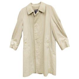 Burberry-raincoat man Burberry vintage t 44-Cream