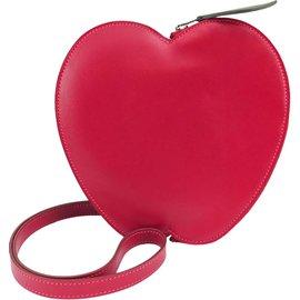 Hermès-Hermes Apple Fruitti Tutti Large Cuir Rouge-Rouge