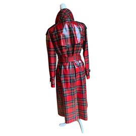 Burberry-Stewart Tartan Trench-Multiple colors