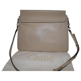 Chloé-Chloé Faye Medium limited edition bag-Beige