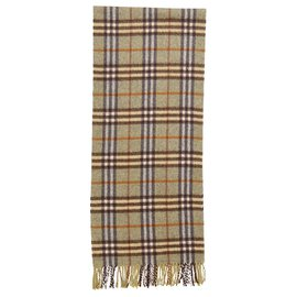 Burberry-Burberry Novacheck cashmere scarf-Multiple colors