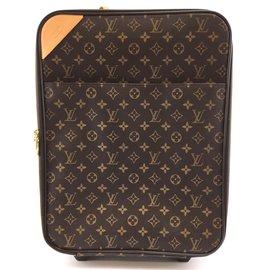 Louis Vuitton-Louis Vuitton Pegase 45 Toile monogramme-Marron