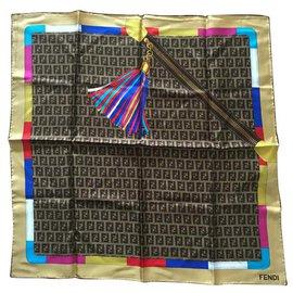 Fendi-Silk scarves-Multiple colors