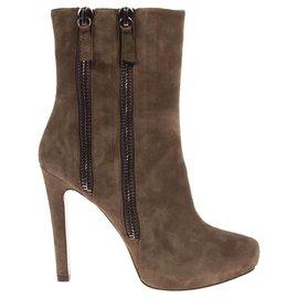 Pura Lopez-Boots-Green