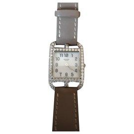 Hermès-Hermès cap cod diamants-Argenté