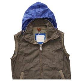 Thomas Burberry-Men Coats Outerwear-Brown