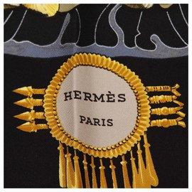 Hermès-Hermes Multi LArbre de Soie Silk Scarf-Multiple colors