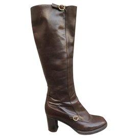 Fratelli Rosseti-Fratelli Rossetti p boots 39-Dark brown