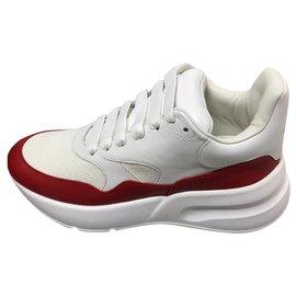 Alexander Mcqueen-sneakers new. cut it 38. Alexander mcqueen-White