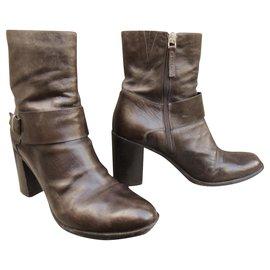 Sartore-Sartore p boots 41-Dark brown