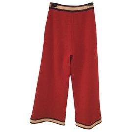 Gucci-Un pantalon, leggings-Rouge