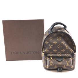 Louis Vuitton-Louis Vuitton Palm Springs Mini Monogram Canvas-Brown
