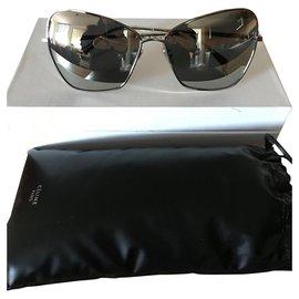 Céline-Sunglasses-Silvery