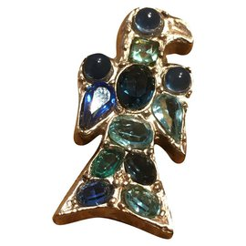 Chanel-Pins & brooches-Blue