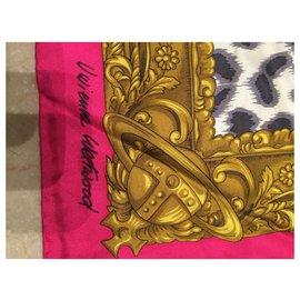 Vivienne Westwood-Silk scarves-Pink