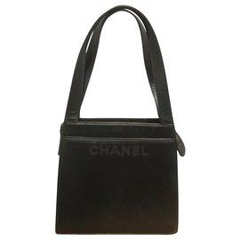 Chanel-Fourre-tout-Noir