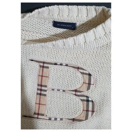 Burberry-Sweaters-White,Multiple colors