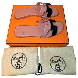 Hermès-Hermès Oran sandal-Pink