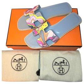Hermès-Sandale Hermès Oran-Autre
