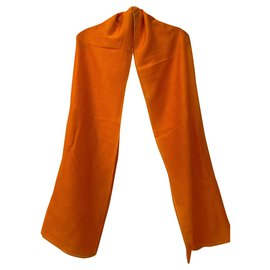 Hermès-Scarves-Orange