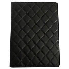 Chanel-Chanel iPad cover-Black