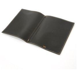 Hermès-COUVERTURE CAHIER MM-Noir