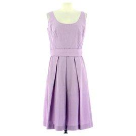 Tara Jarmon-robe-Lavender