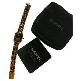 Chanel-Premiere Watch-Golden