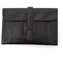 Hermès-JIGE BLACK-Black