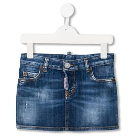 Dsquared2-Gonna Denim Bambino Dsquared2  14 anni-Blue