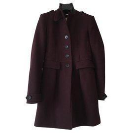 Burberry-Coats, Outerwear-Purple