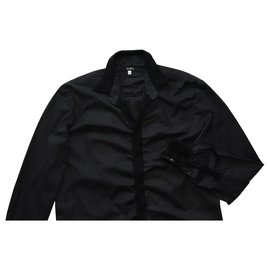 Versace-Shirts-Black