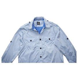 Stone Island-Shirts-Blue