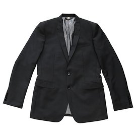 Burberry-Suits-Grey