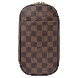 Louis Vuitton-Louis Vuitton Pochette Gange-Brown