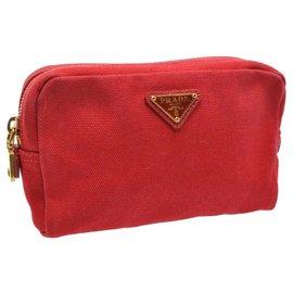 Prada-Prada Clutch Bag-Vermelho