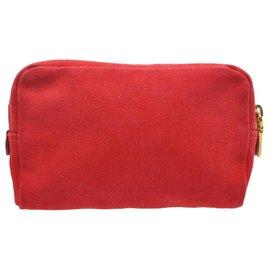 Prada-Prada Clutch Bag-Red
