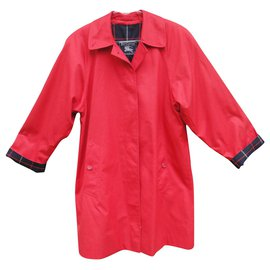 Burberry-Burberry woman raincoat vintage model Marfield t 36/38-Red