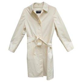 Burberry-Burberry London women's raincoat 34/36-Eggshell