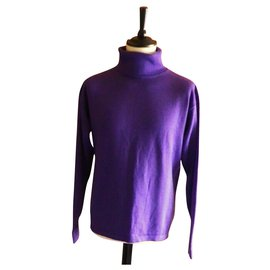 Givenchy-GIVENCHY turtleneck size XL very good condition-Purple