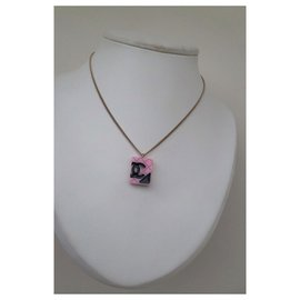 Chanel-CAMBON NECKLACE-Pink