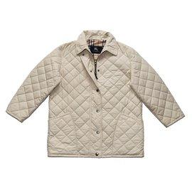 Burberry-Jackets-Beige