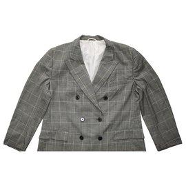 Burberry-Jackets-Grey