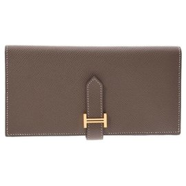 Hermès-Hermes Bearn wallet-Brown