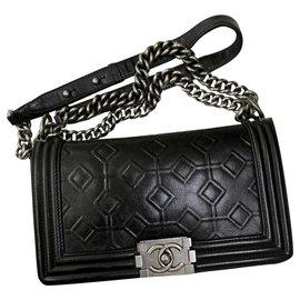 Chanel-Limited Medium Boy Flap Bag-Black