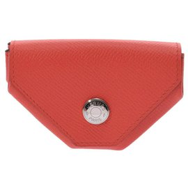 Hermès-Hermès Revan Cattle Coin Pocket-Red