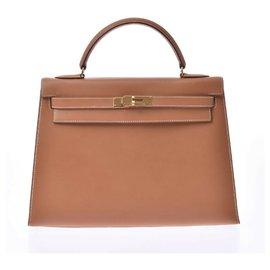 Hermès-hermes kelly 32-Brown