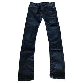 Diesel-Un pantalon-Bleu Marine