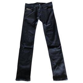 Diesel-Pants-Black